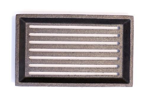 Hochwertiger 18 x 30 cm Gussrost Ofenrost Kaminrost Ascherost Feuerrost Rost